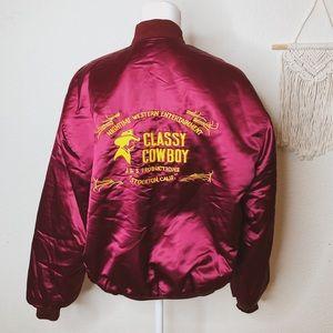 Vintage | 🤠 Classy Cowboy Bomber